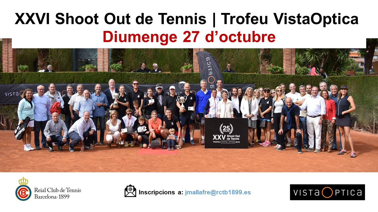 XXVI Shoot Out de Tennis | Trofeu VistaOptica